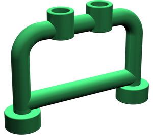 LEGO Green Bar 1 x 4 x 2 with Studs (4083)