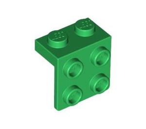 LEGO Green Bracket 1 x 2 - 2 x 2 (21712 / 44728 / 92411)
