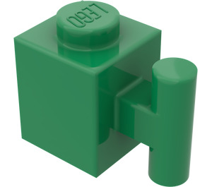 LEGO Green Brick 1 x 1 with Handle (2921)