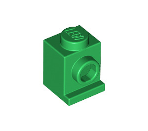 LEGO Green Brick 1 x 1 with Headlight and No Slot (4070)