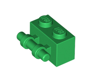 LEGO Green Brick 1 x 2 with Handle (30236)
