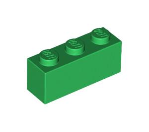 LEGO Green Brick 1 x 3 (3622)