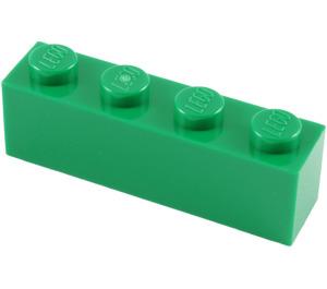 LEGO Green Brick 1 x 4 (3010)
