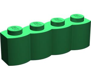 LEGO Green Brick 1 x 4 Log (30137)