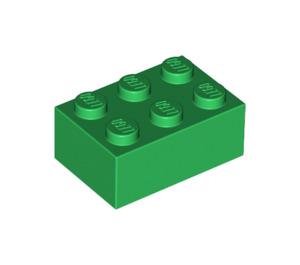 25 New LEGO 2x3 Lime Green Bricks 3002 bulk lot blocks city bright yellow green