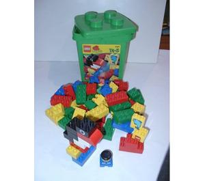 LEGO Green Bucket Set 2124