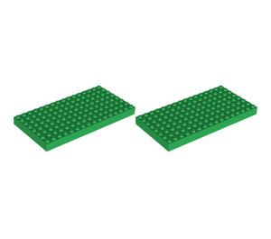 LEGO Green Building Plates Set 9864