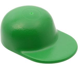 LEGO Green Cap with Long Flat Bill (4485)