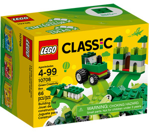 LEGO Green Creative Box Set 10708 Packaging