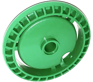 LEGO Green Disk 5 x 5 with Notched Disk (32439)