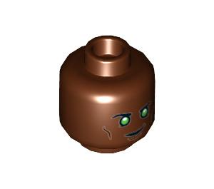 LEGO Green Lantern - John Stewart Plain Head (Recessed Solid Stud) (3626 / 34837)