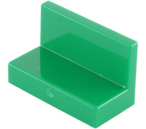 LEGO Green Panel 1 x 2 x 1 without Rounded Corners (4865)