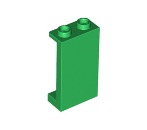 LEGO Green Panel 1 x 2 x 3 with Side Supports - Hollow Studs (87544)