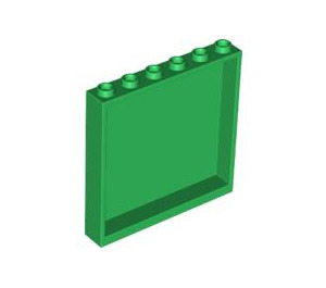 LEGO Green Panel 1 x 6 x 5 (59349)