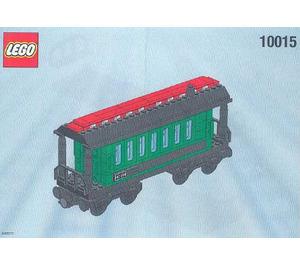 LEGO Green Passenger Wagon Set 10015 Instructions