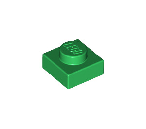 LEGO Green Plate 1 x 1 (3024)