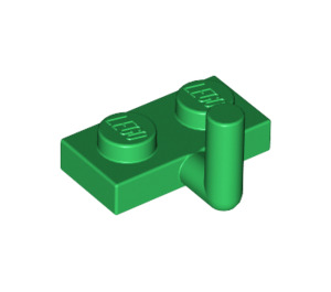 LEGO Green Plate 1 x 2 with Hook (5mm Horizontal Arm) (43876 / 88072)