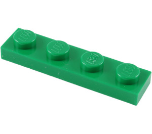 LEGO Green Plate 1 x 4 (3710)
