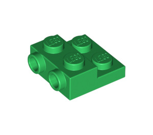 LEGO Green Plate 2 x 2 x 2/3 with 2 Studs on Side (99206)