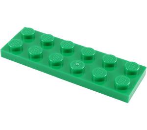 LEGO Green Plate 2 x 6 (3795)
