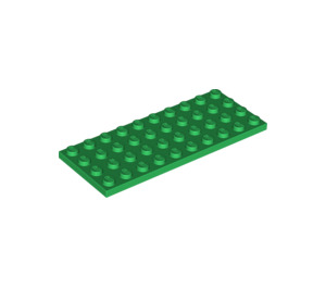 LEGO Green Plate 4 x 10 (3030)