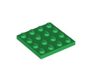 LEGO Green Plate 4 x 4 (3031)