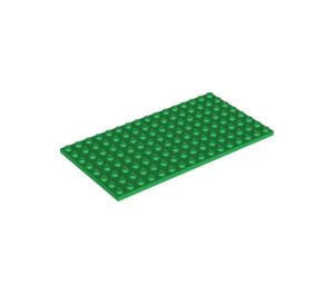 LEGO Green Plate 8 x 16 (92438)
