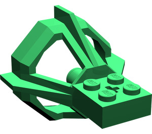 LEGO Green Propeller Housing (6040)