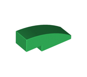 LEGO Green Slope 1 x 3 Curved (50950)