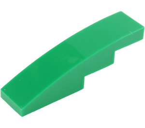 LEGO Green Slope 1 x 4 Curved (11153 / 61678)
