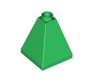 LEGO Green Slope 2 x 2 x 2 (75°) Quadruple (3688)