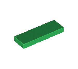 LEGO Green Tile 1 x 3 (63864)