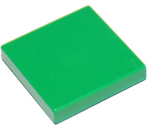 LEGO Green Tile 2 x 2 with Groove (3068)