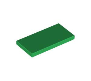 LEGO Green Tile 2 x 4 (87079)