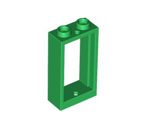 LEGO Green Window 1 x 2 x 3 without Sill (60593)