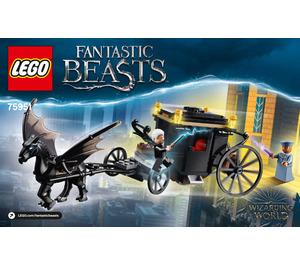 LEGO Grindelwald's Escape Set 75951 Instructions