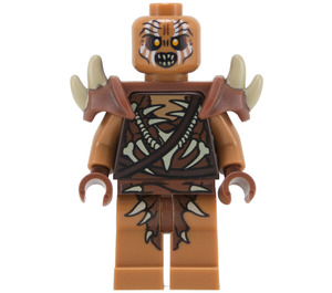 LEGO Gundabad Orc - Bald with Armor Minifigure