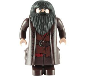 LEGO Hagrid with Dark Brown Topcoat Minifigure