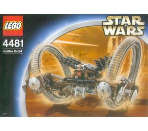 LEGO Hailfire Droid Set 4481