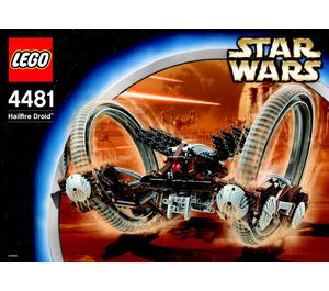LEGO Hailfire Droid Set 4481 Instructions