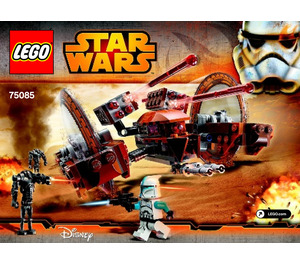 LEGO Hailfire Droid Set 75085 Instructions