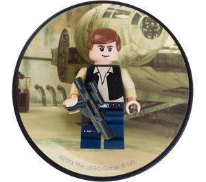 LEGO Han Solo Magnet (850638)