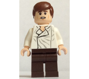 LEGO Han Solo Minifigure with Dark Brown Legs