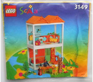 LEGO Happy Home Set 3149 Instructions