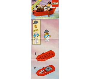 LEGO Harbour Sentry Set 6245 Instructions