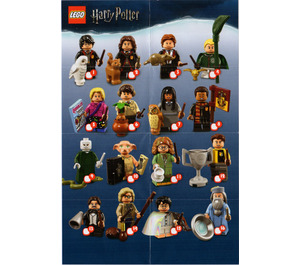 LEGO Harry Potter and Fantastic Beasts Series 1 - Random bag Set 71022-0 Instructions
