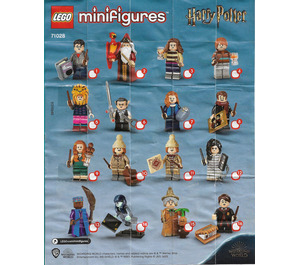 LEGO Harry Potter Series 2 Collectable Minifigures - Random Bag Set 71028-0 Instructions