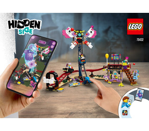 LEGO Haunted Fairground Set 70432 Instructions