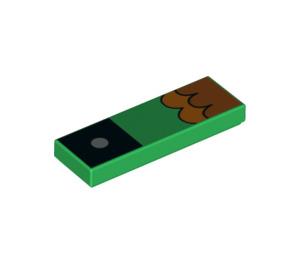 LEGO Hawkodile Tile 1 x 3 (39090 / 63864)