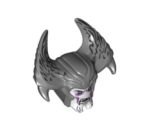 LEGO Head with Steppenwolf Pattern (34908)